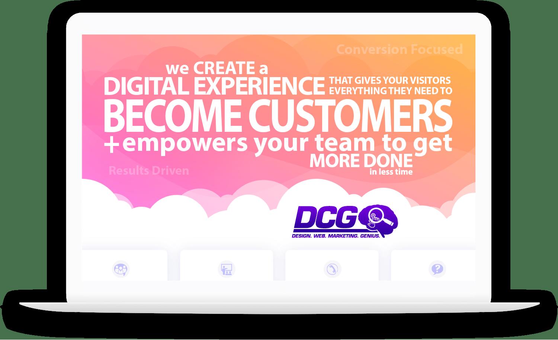conversion focused web design.  results driven marketing.